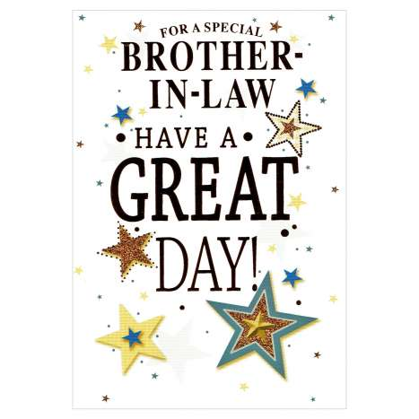 Everyday Greeting Cards Code 50 - Brother in Law