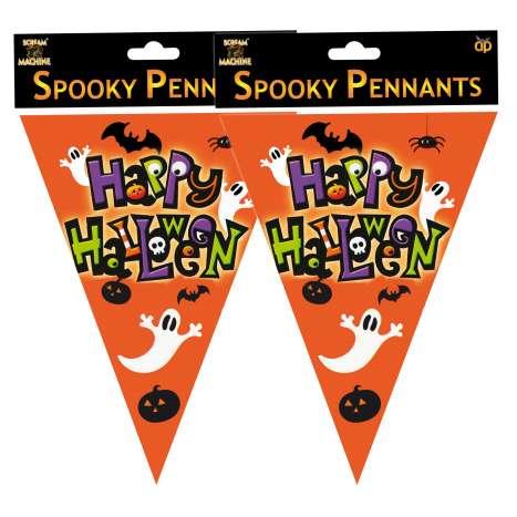 Spooky pennants