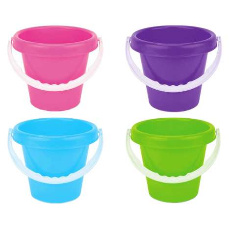 Beach Buckets - Assorted Colours