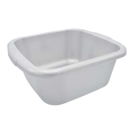 Curver Washing Up Bowl 10L - Silver