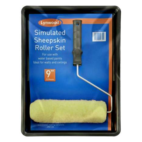"""Paint Roller & Tray Set 9"""""""