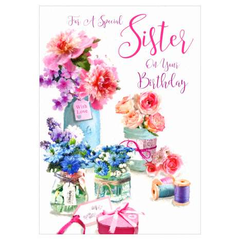 Everyday Greeting Cards Code 50 - Sister