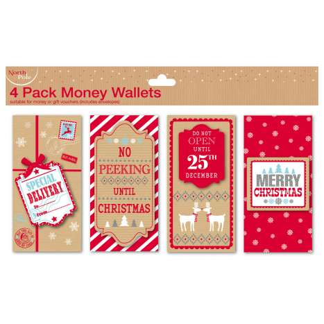 Money wallets 4PK contemporary