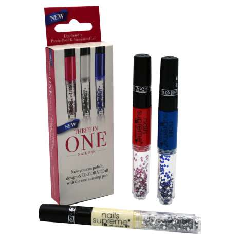 Three In One Nail Pen