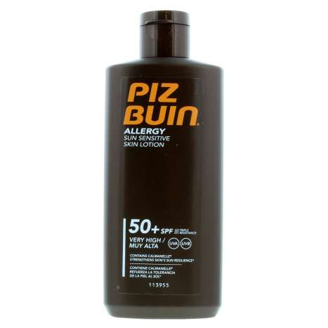 Piz Buin Allergy Sun Sensitive Skin Lotion SPF50 200ml