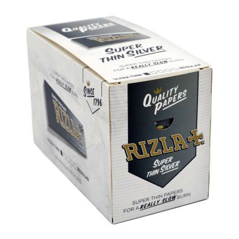 Rizla Papers 50 Singles Silver
