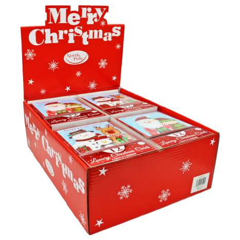 Boxed Christmas Cards - Cute Characters