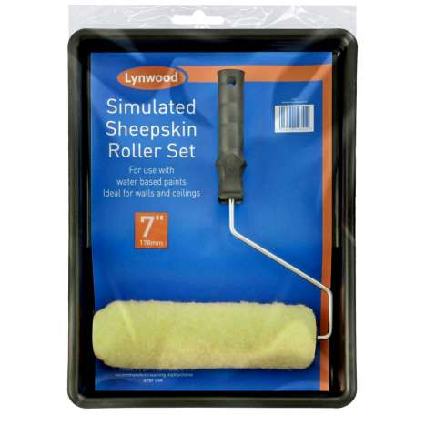 """Paint Roller & Tray Set 7"""""""