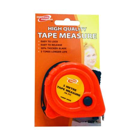 Homeware Essentials Tape Measure 5m