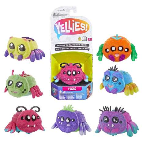 Yellies! Voice-Activated Spider Pet - Assorted
