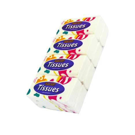 Super Soft Pocket 3 Ply Tissues 8 Pack