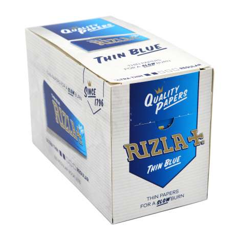 Rizla Papers 50 Singles Blue
