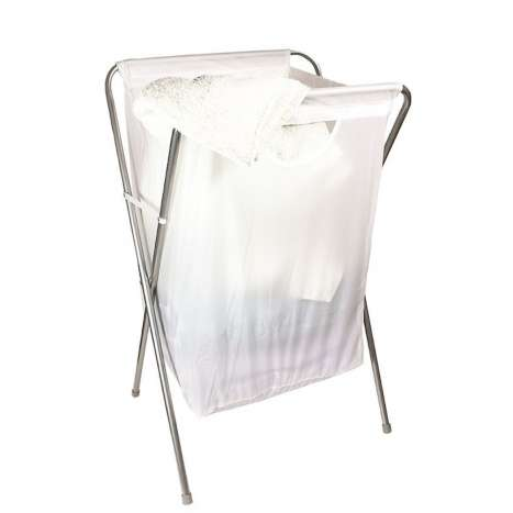 Folding laundry hamper (approx. 68x43x33cm)