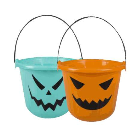 Treats bucket 2 assorted designs - 22x18cm