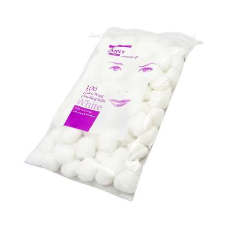 Simply Cotton Wool Balls 100 Pack