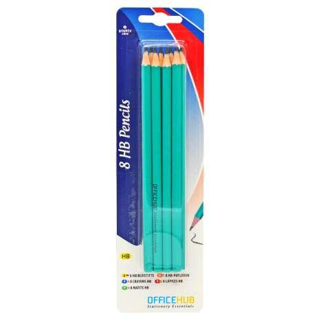 Officehub HB Pencils 8 Pack