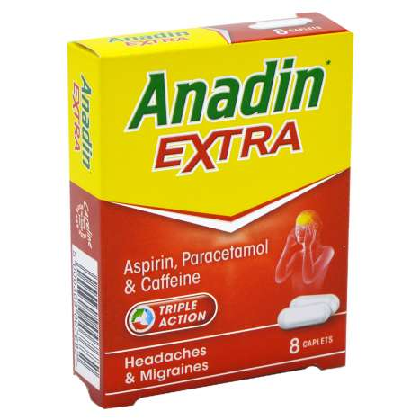 Anadin Extra Caplets 8 Pack