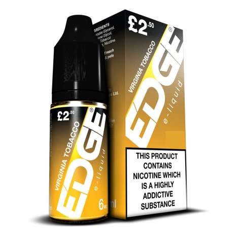 EDGE e-liquid - Virginia Tobacco - 6mg