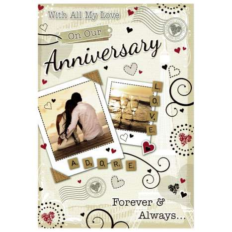 Everyday cards code 75 - Our Anniversary