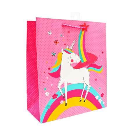 Medium Gift Bags - Unicorn (21.5cm x 25.5cm)