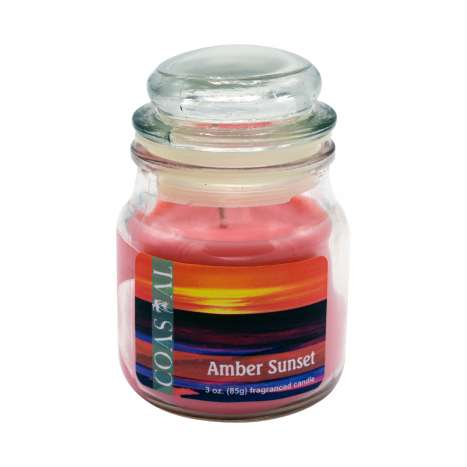 Amber sunset candle 3oz