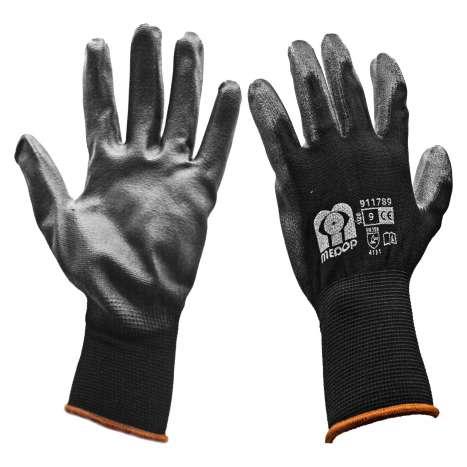 Black Work Gloves - Size 9
