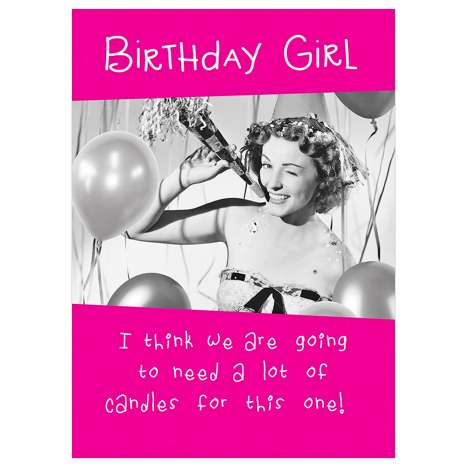 Garlanna Greeting Cards Code 50 - Birthday Candles