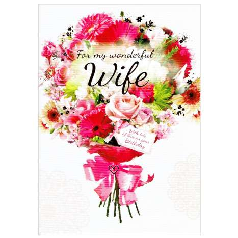 Everyday Greeting Cards Code 50 - Wife Birthday