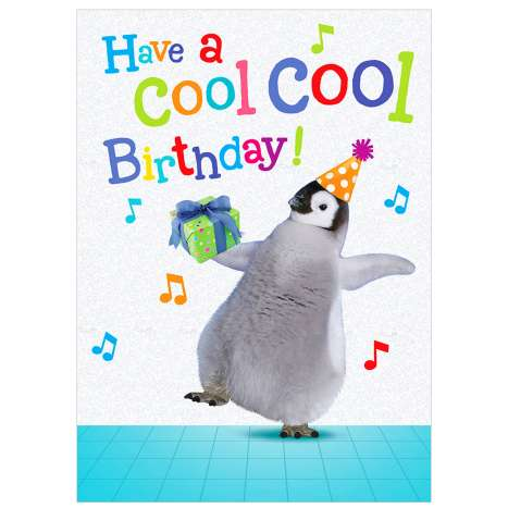 Garlanna Greeting Cards Code 50 - Penguin