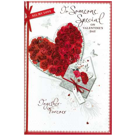Valentines Day Cards - Someone Special (Code 75 - cellophane wrapped)