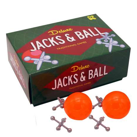 Deluxe Jacks & Ball Traditional Games