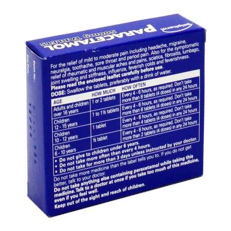 Galpharm Paracetamol 500mg Tablets 16 Pack