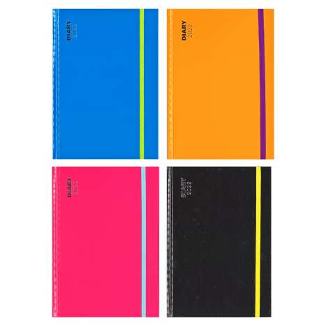 2022 A5 Diary - Assorted Colours