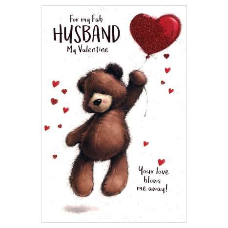 Valentines Day Cards Code 75 - Husband