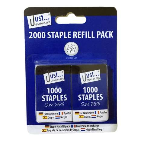 Staple Refill Twin Pack