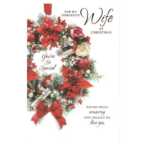 Christmas Cards Code 75 - Wife