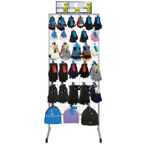 Winter Gloves & Hats Stand
