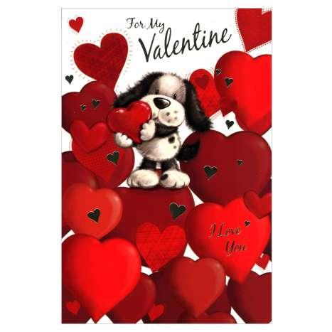 Valentines Day Cards Code 75 - My Valentine
