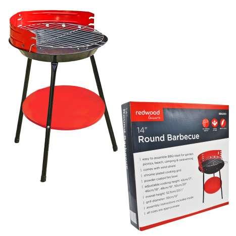 Round Barbecue (Diameter: 14 Inch)