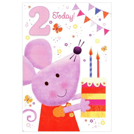 Everyday Greeting Cards Code 50 - Age 2