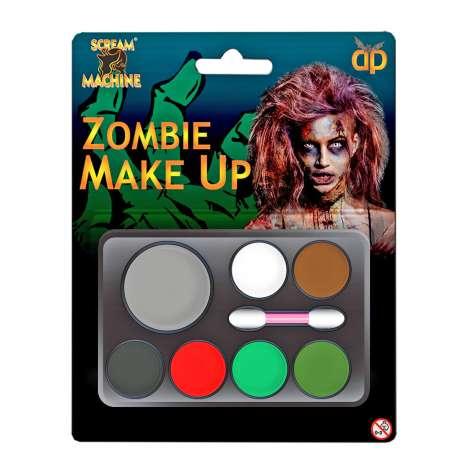 Scream Machine Zombie Make Up Kit