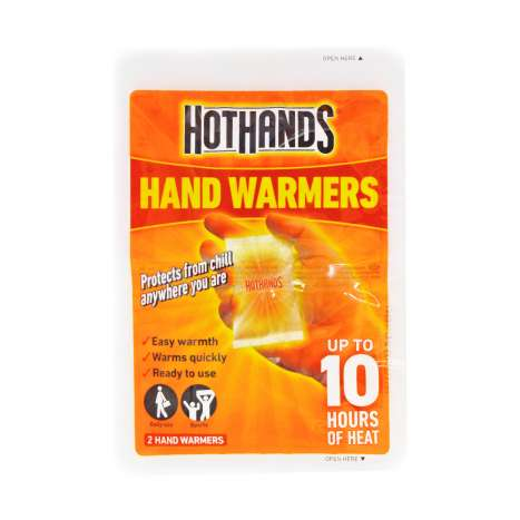 Hothands Hand Warmers 2 Pack - On a Clipstrip
