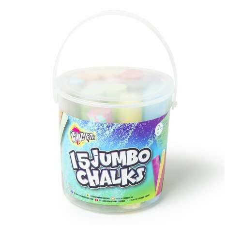 Jumbo Chalks 15 Pack