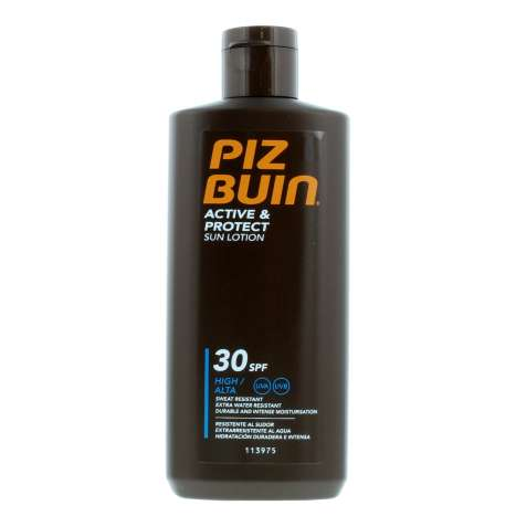 Piz Buin Active & Protect Sun Lotion SPF30 200ml