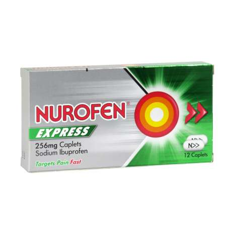 Nurofen Express 256mg Caplets 12 Pack