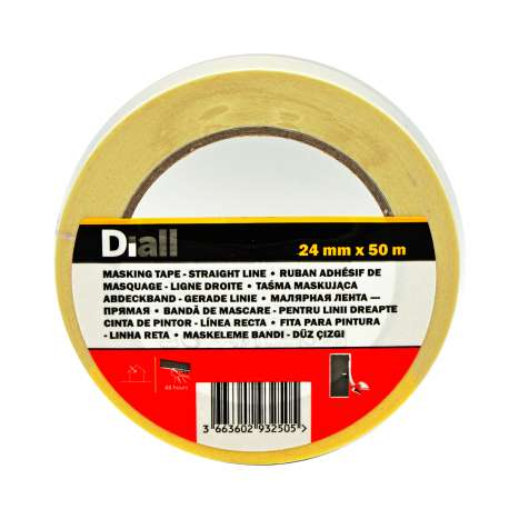Diall Masking Tape 24mm x 50m