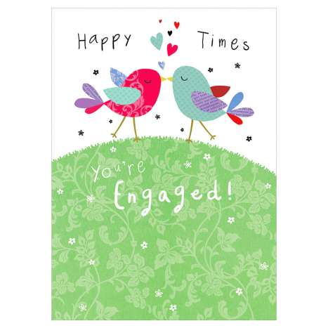 Garlanna Greeting Cards Code 50 - Engaged