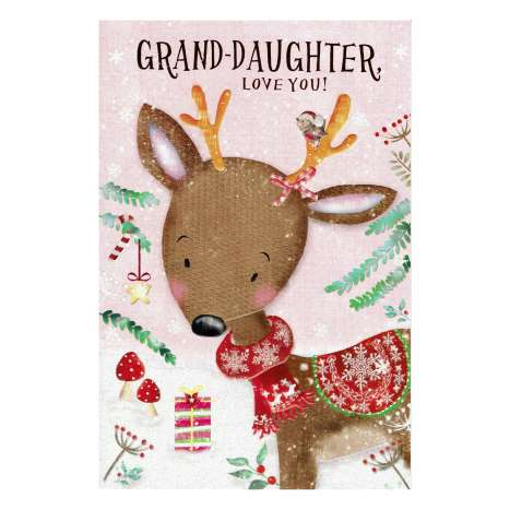 Christmas Cards Code 75 - Grand Daughter