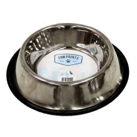 Non Slip Dog Bowl - Stainless Steel - 23cm