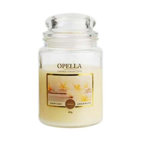 Opella Jumbo Jar Scented Candle 450g - Vanilla